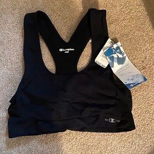 NWT Black Champion Double Dry sports bra size L/XL